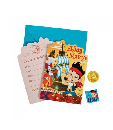 Jake and the Neverland Pirates Invitations Card - 491288